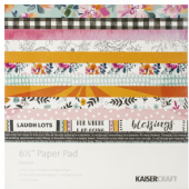 "Kaisercraft 6½"" Paper Pad - Blesses - PP1059"